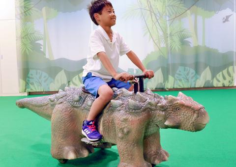 ガオガオウォーク(歩く恐竜)
